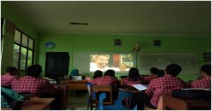 Murid-murid saya menonton Jagal