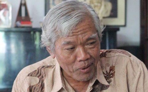 Ketua YPKP 65, Bedjo Untung. Foto: KBR/Danny Setiawan