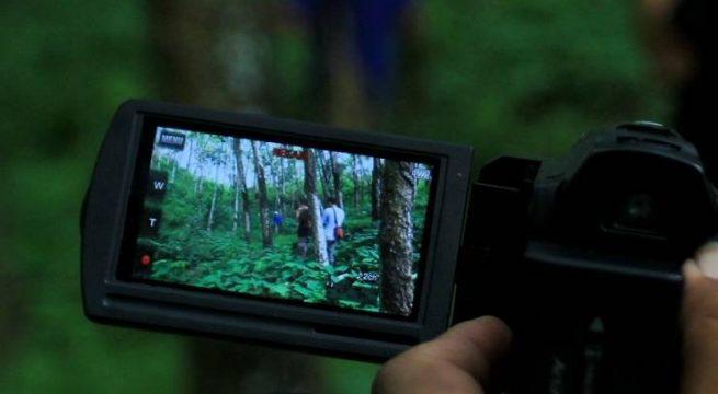 Pembuatan film dokumenter pasca tragedi 1965 di Cilacap, Jawa Tengah. (Foto: Muh Ridlo/KBR)