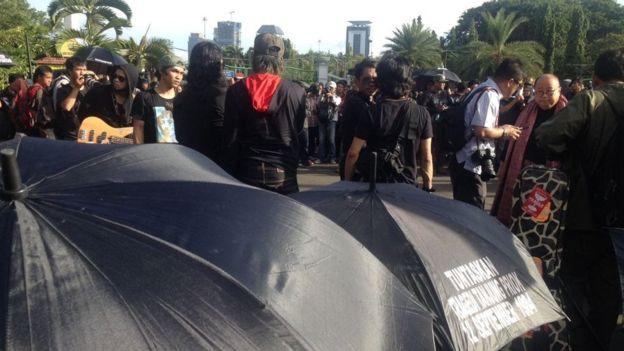 Illustrasi: Aksi Kamisan ke 744; 10 tahun