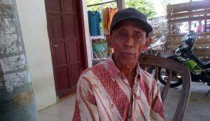 Sukar, pengubur korban pembunuhan 1965-1966, di alas Plumbon, Semarang Foto: Angling Adhitya Purbaya/detikcom