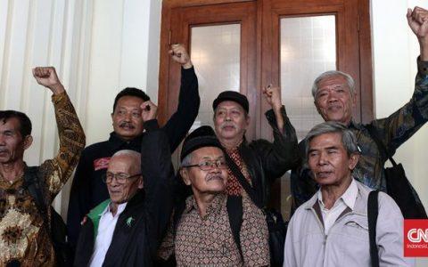 Para korban Tragedi 1965. (CNN Indonesia/Andry Novelino)