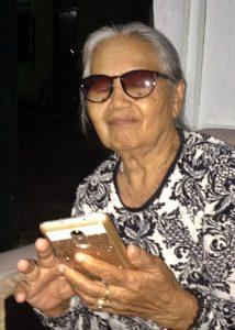 Suwarti (84) Ketua YPKP 65 Cilacap [Foto: Humas YPKP 65]