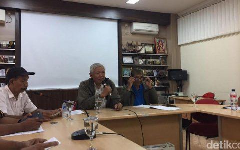 Konferensi pers YPKP 65 di Ruang Rapat Komnas Perempuan (Foto: Heldania Utri Lubis/detikcom)
