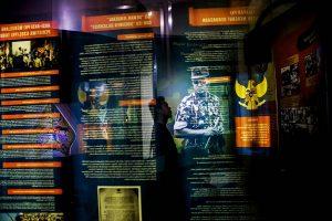 Museum ini menyembunyikan sisi gelap pemerintahan Suharto. [Kredit Ulet Ifansasti untuk The New York Times]