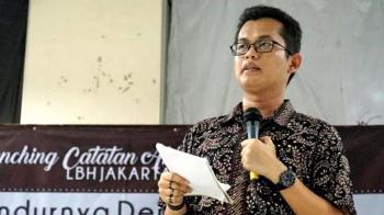 Direktur LBH Jakarta, Alghiffari Aqsa