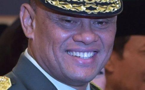 Jenderal Gatot Nurmantyo (ADEK BERRY/AFP)