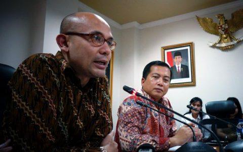 Juru bicara Kemlu, Arrmanatha Nasir, mengatakan bahwa Pemerintah Indonesia akan mengecek kebenaran dan akurasi puluhan dokumen rahasia Amerika Serikat mengenai peristiwa G-30S dan upaya penggulingan Presiden Sukarno. (ANTARA FOTO/ho/Suwandy)
