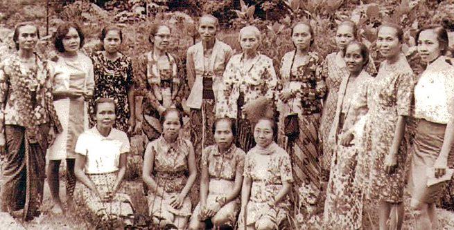 Tahanan politik perempuan di Kamp Plantungan.
