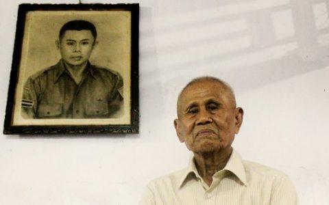 Ishak mantan Anggota Cakrabirawa. ©2017 Merdeka.com/Abdul Aziz
