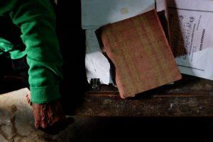 Buku tulis dari Pulau Buru (Foto: Panji Satrio/LPM Kentingan)