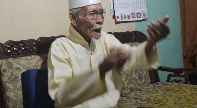 Sulemi, bekas anggota pasukan Cakrabirawa. Foto: Muhammad Ridlo/KBR.