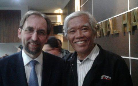 Zeid Ra'ad al Hussein dan Bedjo Untung [ist]