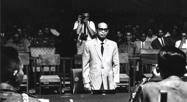 Soebandrio, salah satu loyalis Sukarno yang ditangkap.  [Foto: Arsip Nasional Belanda]