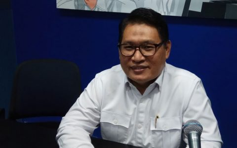 Ketua Lembaga Perlindungan Saksi dan Korban (LPSK) Abdul Haris Semendawai Ketika Ditemui di Kantornya, Jakarta, Selasa (15/8/2017). (KOMPAS.com/ MOH NADLIR )