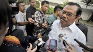 Jaksa Agung M Prasetyo mengaku sulit mengumpulkan bukti-bukti kasus HAM masa lalu. (ANTARA FOTO/Yudhi Mahatma)