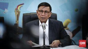 Bekas Panglima ABRI era Soeharto, Wiranto kerap dikaitkan terhadap kasus pelanggaran HAM masa lalu. (CNN Indonesia/Safir Makki)