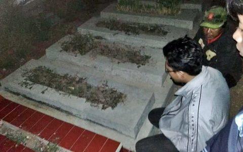AMIR SJARIFOEDDIN: Menziarahi makam Amir Sjarifoeddin di Karanganyar, Surakarta [Foto: Kostrad Priya]