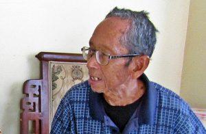 Sayudi, Korban dan Penyintas Tragedi 1965 dari Sindangheula, Brebes [Foto: Humas YPKP 65]