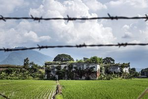 Benteng Pendhem Ambarawa, Jawa Tengah. Awalnya Benteng Pendhem adalah Benteng Fort Willem I kemudian dialihfungsikan menjadi rumah tahanan negara Indonesia - Rosa Panggabean