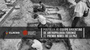 Anggota EAAF sedang bekerja dalam penggalian di Siprus, 2006. Foto dibagikan secara publik di halaman Facebook -nya .