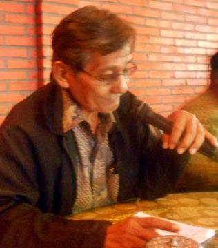 EDDY SUGIANTO: Sekretaris YPKP'65 Pusat, Eddy Sugianto menyampaikan pernyataan pers