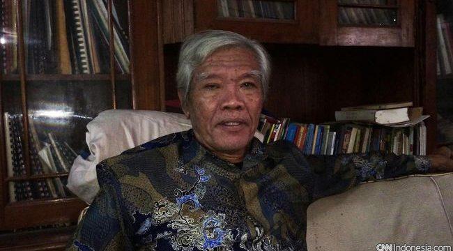 Ketua YPKP 65 Bedjo Untung menyebut sekitar 3000-an korban Tragedi 65 belum mendapat akses kesehatan yang disediakan oleh negara. (CNN Indonesia/Suriyanto)