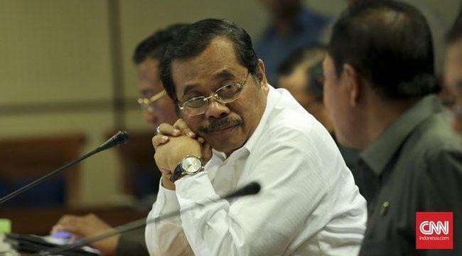 Jaksa Agung Prasetyo yakin penanganan pelanggaran HAM akan intensif seiring pembentukan direktorat khusus itu. (CNN Indonesia/Adhi Wicaksono)