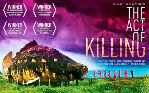 """Ilustrasi: Cover Film The Act of Killing """"Jagal""""  (Foto: Flickr/@theglobalpanorama)"""