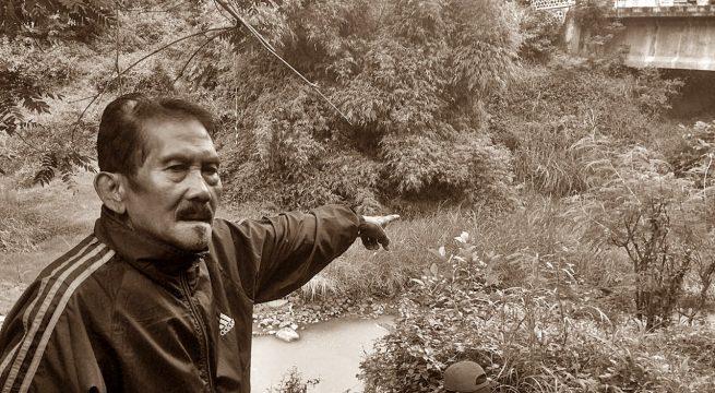 KEYANG: Jembatan Keyang, saksi bisu pembantaian massal para korban Tragedi 65 di Jetis, Ponorogo [Foto: Humas YPKP 65]